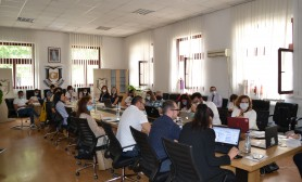"Today, first day of the workshop ""Training workshop on teaching methodologies"" was conducted"