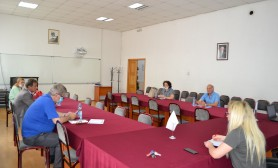 Dean's Collegium of the University of Gjakova meeting