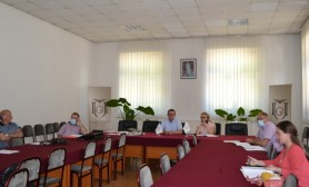 "Working group meeting for the University of Gjakova ""Fehmi Agani"" Statute planning"