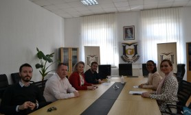 "A monitoring visit of the SOCRE project takes place at the University ""Fehmi Agani"""